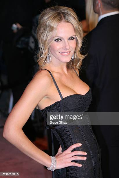Monet Mazur during 2006 Vanity Fair Oscar Party at Morton's in West Hollywood California United States