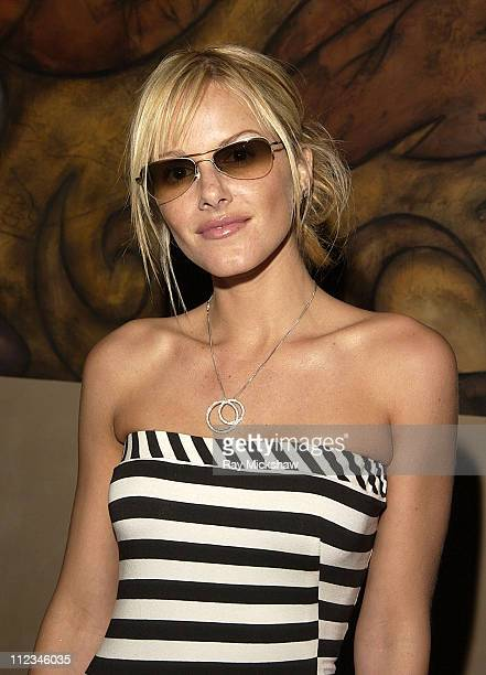 Monet Mazur in Sama Eyewear during Movieline's 4th Annual Young Hollywood Awards - Inside at The Highlands in Hollywood, California, United States.