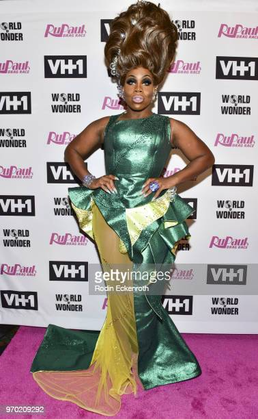 Monet X Change attends VH1's RuPaul's Drag Race Season 10 Finale at The Theatre at Ace Hotel on June 8 2018 in Los Angeles California