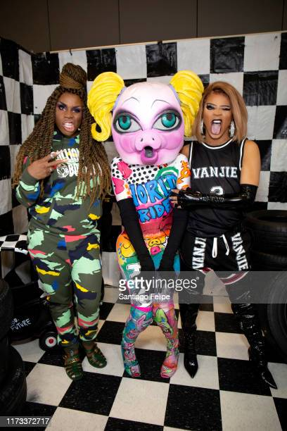 Monet X Change MX QWERRRK and Vanessa Vanjie Mateo attend RuPaul's DragCon 2019 at The Jacob K Javits Convention Center on September 08 2019 in New...