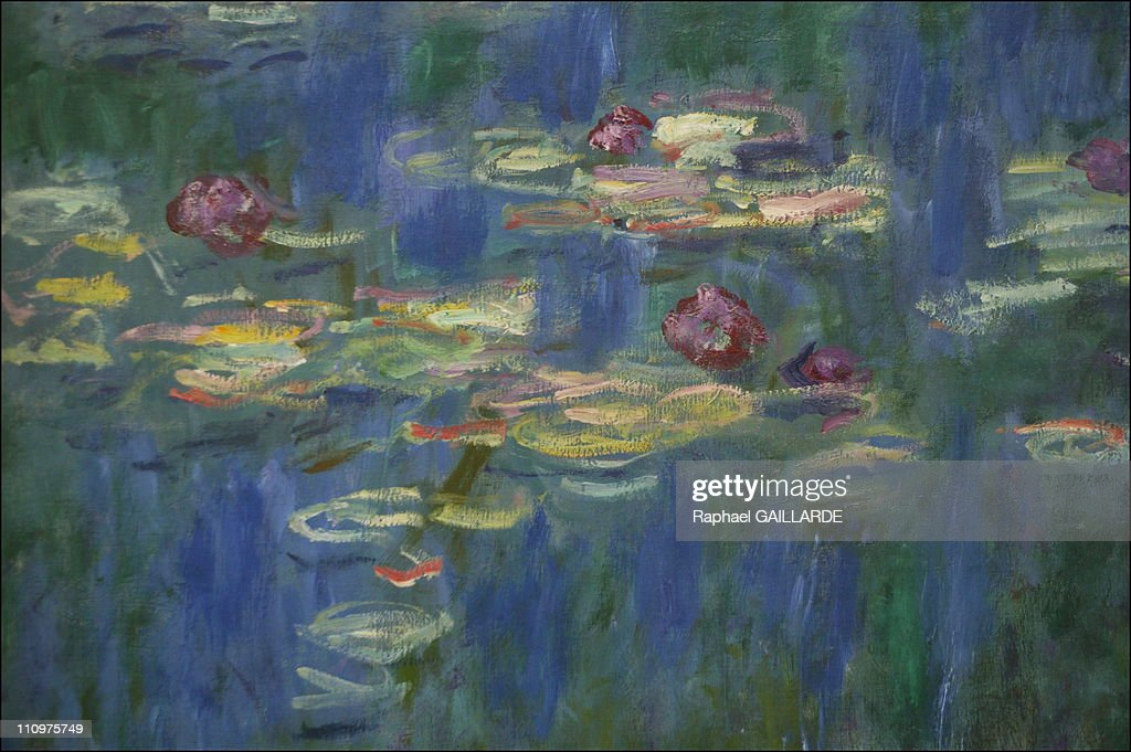 Paris' Museum of Orangerie reopen, Monet's Nympheas enjoy natural lighting again in Paris, France on May 02nd, 2006. : ニュース写真