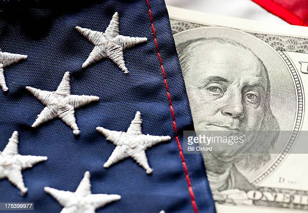 Money and Flag