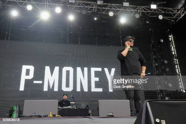 Money and Scribe perform at Auckland City Limits Music Festival on March 3 2018 in Auckland New Zealand