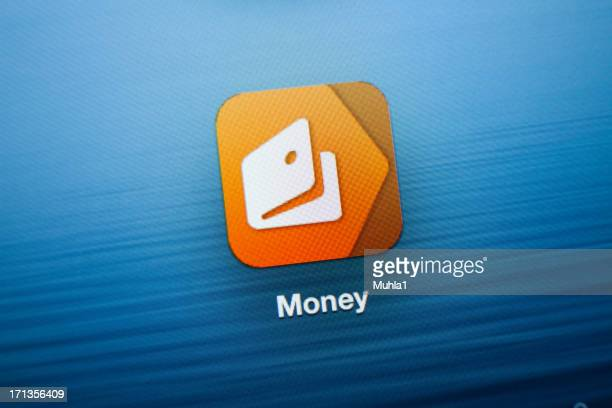 Money App icon on New iPad