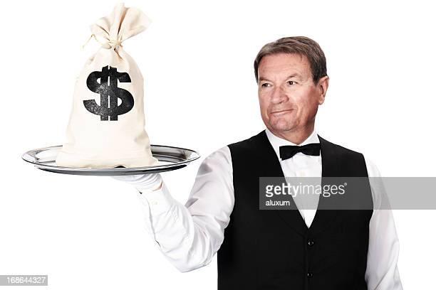 Geldsack und butler