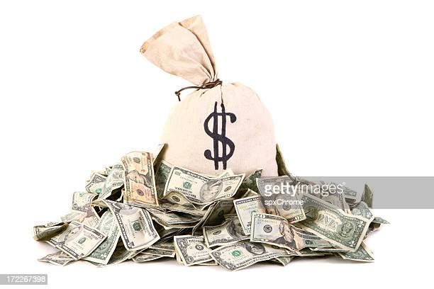 money bag - heap stock pictures, royalty-free photos & images