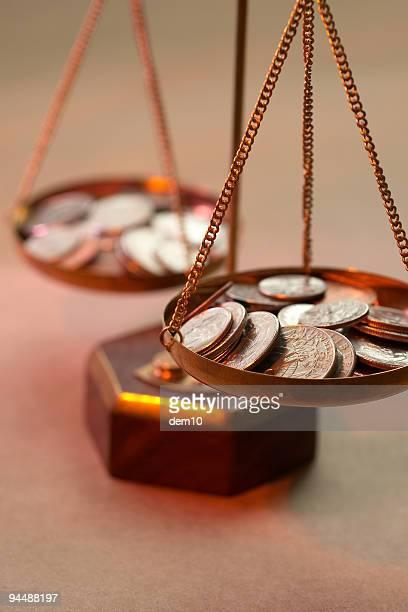 Geld Gleichgewicht