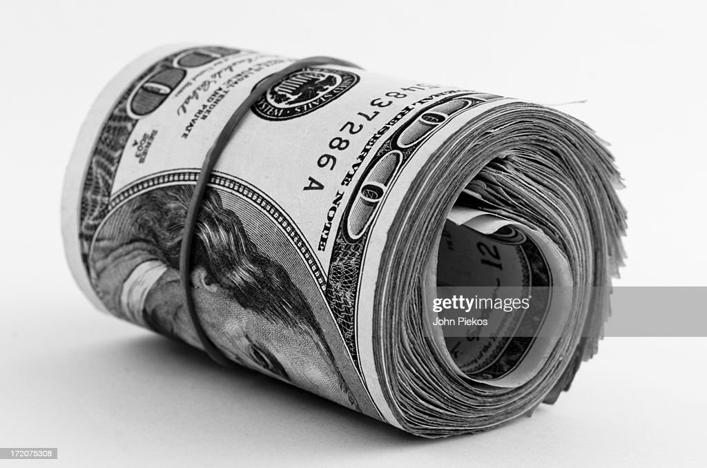 Money Bankroll : Stock Photo