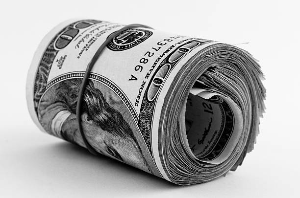 Money Bankroll Wall Art