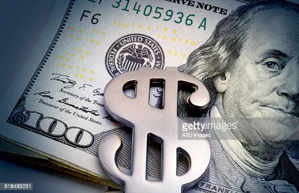 money clip on bills - currency symbol stock pictures, royalty-free photos & images