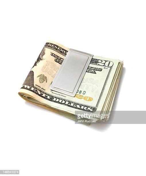 money clip with cash