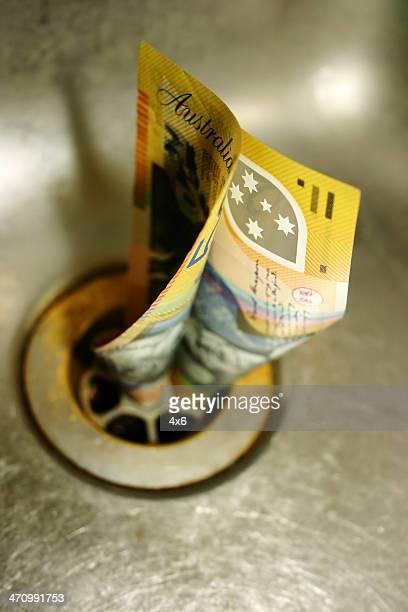 Money down the sink : (