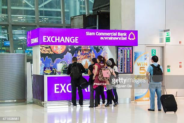 Money Exchange Service at Suvarnabhumi Airport