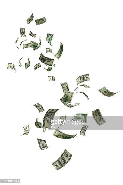 money falling - falling stock pictures, royalty-free photos & images