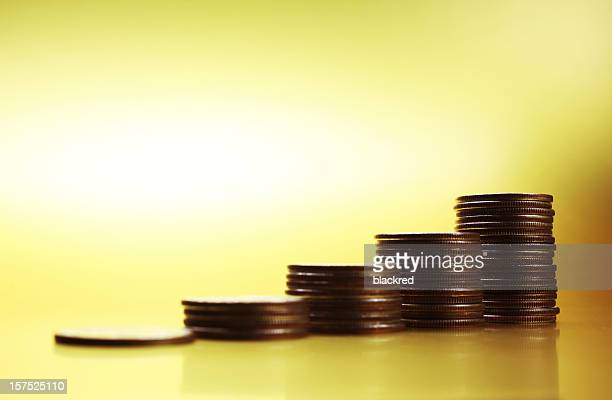 money growth - us coin stock pictures, royalty-free photos & images