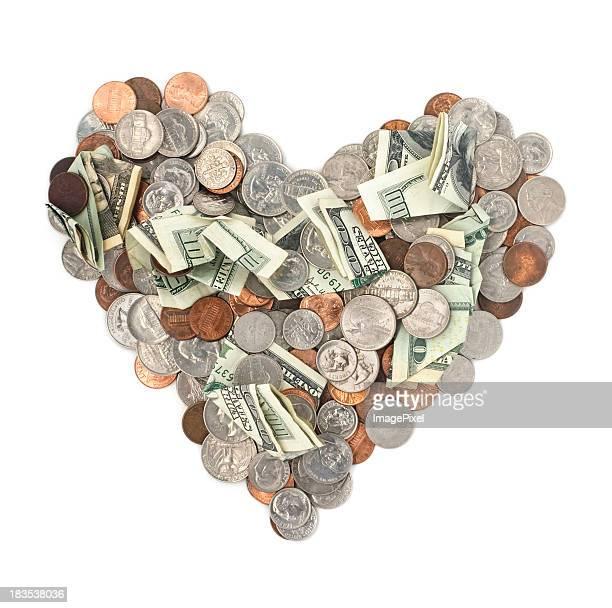 L'argent cœur