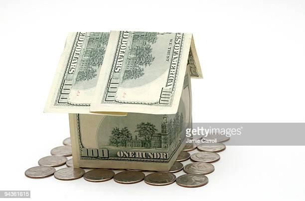 Maison argent sur quarters