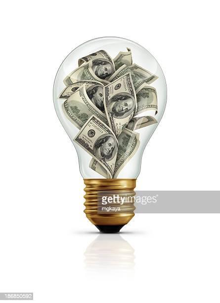 Money In Light Bulb