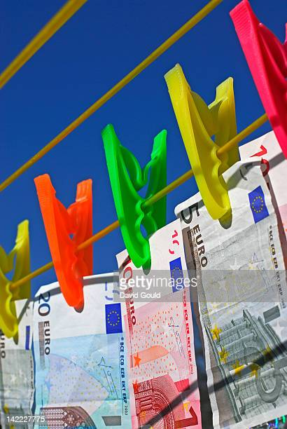 Money laundering Euros