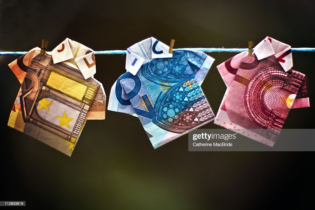 Money Laundering : Stock Photo