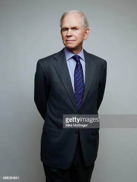 Money manager and co-founder and chief investment strategist of Grantham Mayo van Otterloo , Jeremy Grantham is photographed for Institutional...