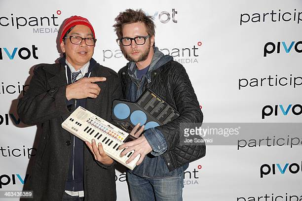 Money Mike and Patrick Keeler attend the Participant Media Celebrating 10 Years and the world premiere of Pivot's HITRECORD ON TV on day 2 of the...