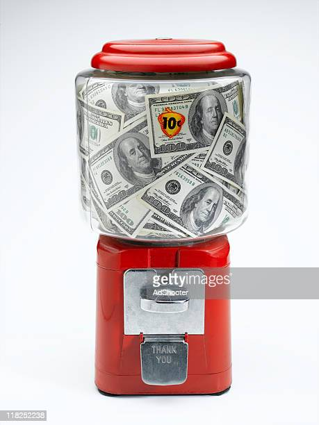 money - gumball machine stock pictures, royalty-free photos & images