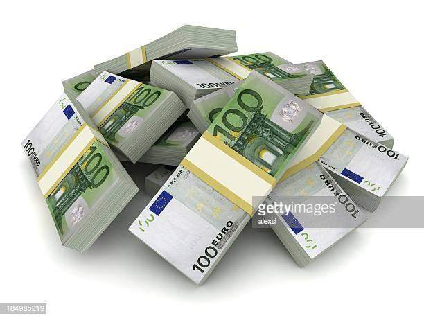 Money Pile - Euro