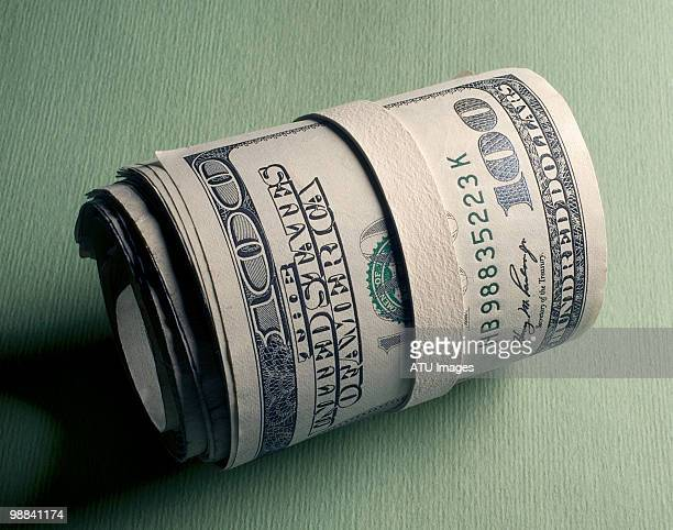 money roll bills