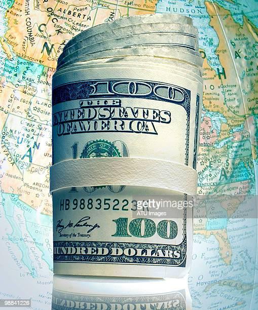 money roll map