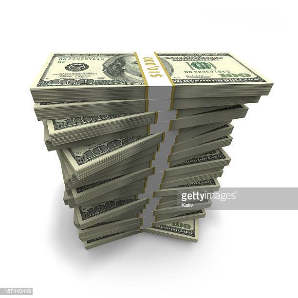 money stack - jackpot stock pictures, royalty-free photos & images