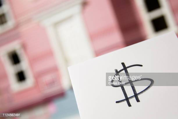 money symbol - inexpensive stock photos and pictures