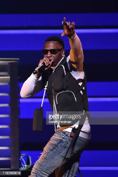 Moneybagg Yo performs during the TIDAL's 5th Annual TIDAL X Benefit Concert TIDAL X Rock The Vote At Barclays Center Show at Barclays Center of...