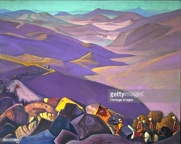 Mongolia Genghis Khan's Campaign 19371938 Found in the collection of the State Oriental Art Museum Moscow