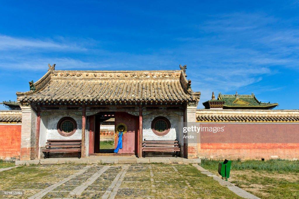 door of the Erdene Zuu Monastery.