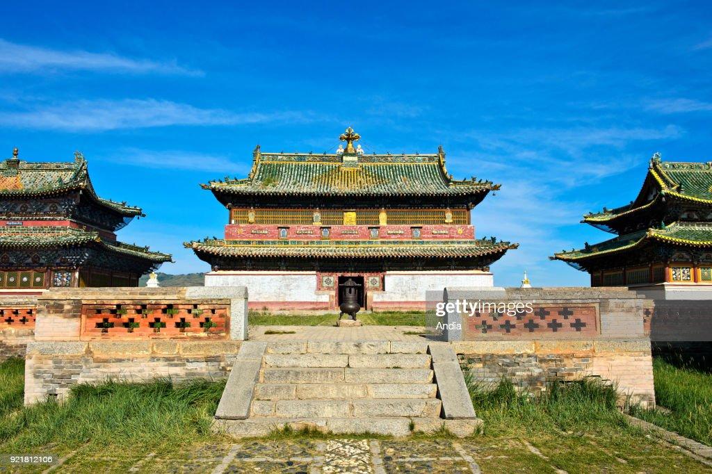 Temple of the Erdene Zuu Monastery. : News Photo