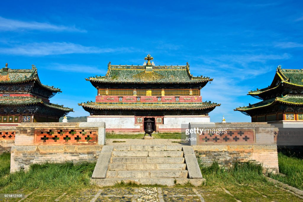 temple of the Erdene Zuu Monastery.
