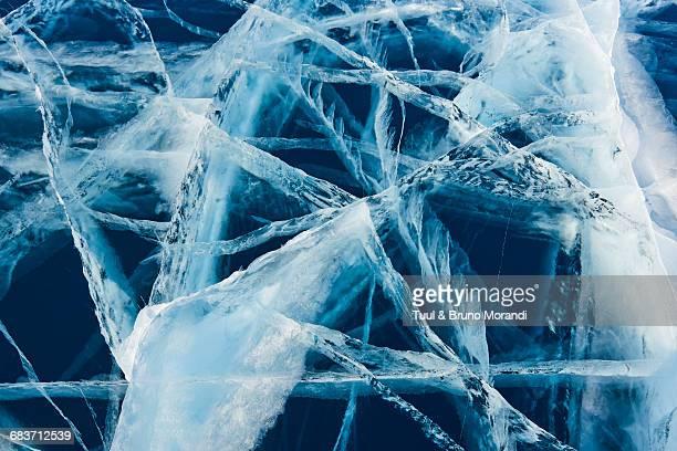 Mongolia, Khovsgol frozen lake
