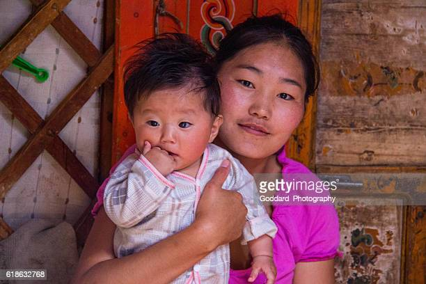 Mongolia: Nomadic Family