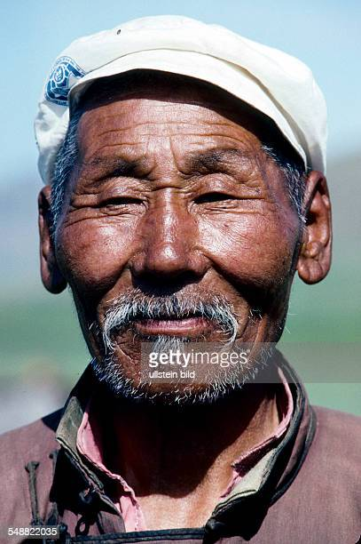 Mongolia, old man in the Khoevsgoel province.