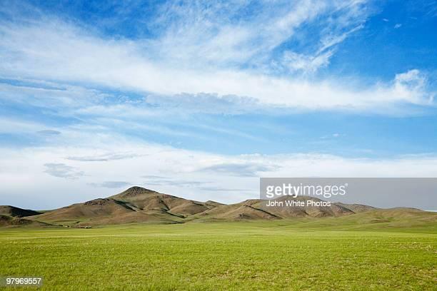 mongolia steppes - モンゴル ストックフォトと画像