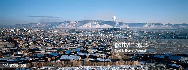 Mongolia, Ulaan Batar, Yourt, winter