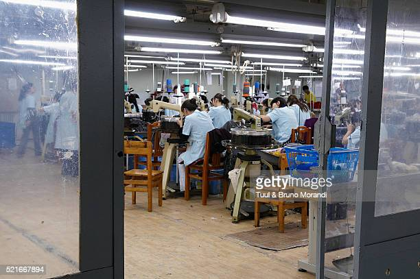 mongolia. ulaan bator. gobi cachemere factory. - cashmere stock pictures, royalty-free photos & images