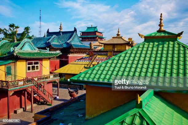 Mongolia, Ulan Bator, Gandan monastery