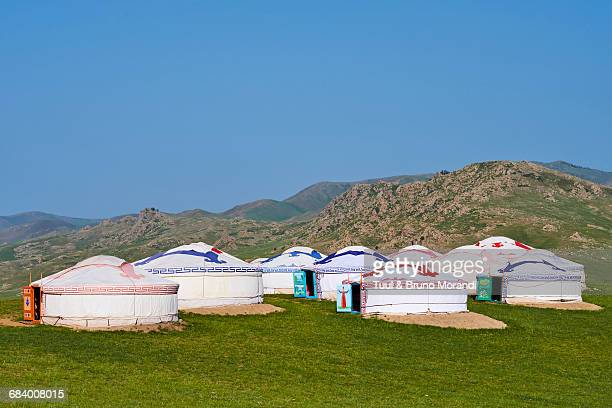 Mongolia, yurt camp