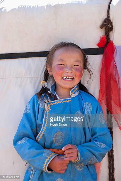 mongolian girl - hugh sitton imagens e fotografias de stock