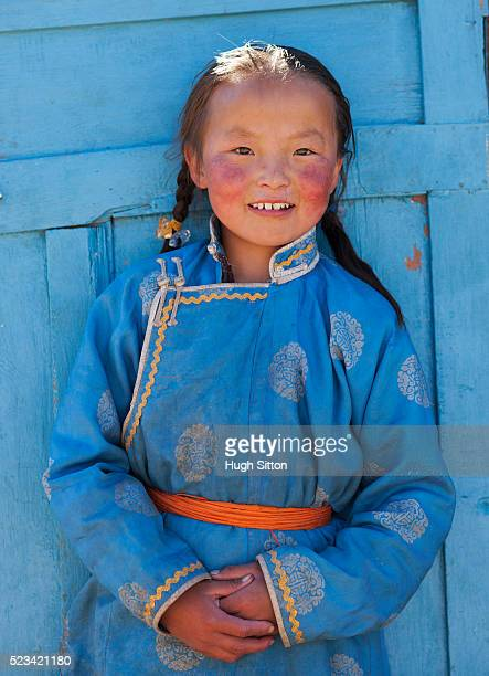 mongolian girl - hugh sitton stock pictures, royalty-free photos & images