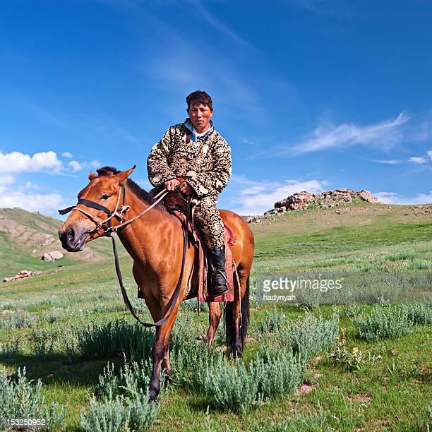Mongolian horseback rider