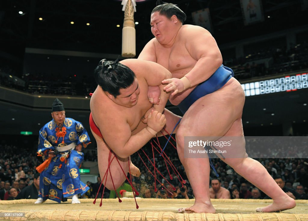 Grand Sumo New Year Tournament - Day 9