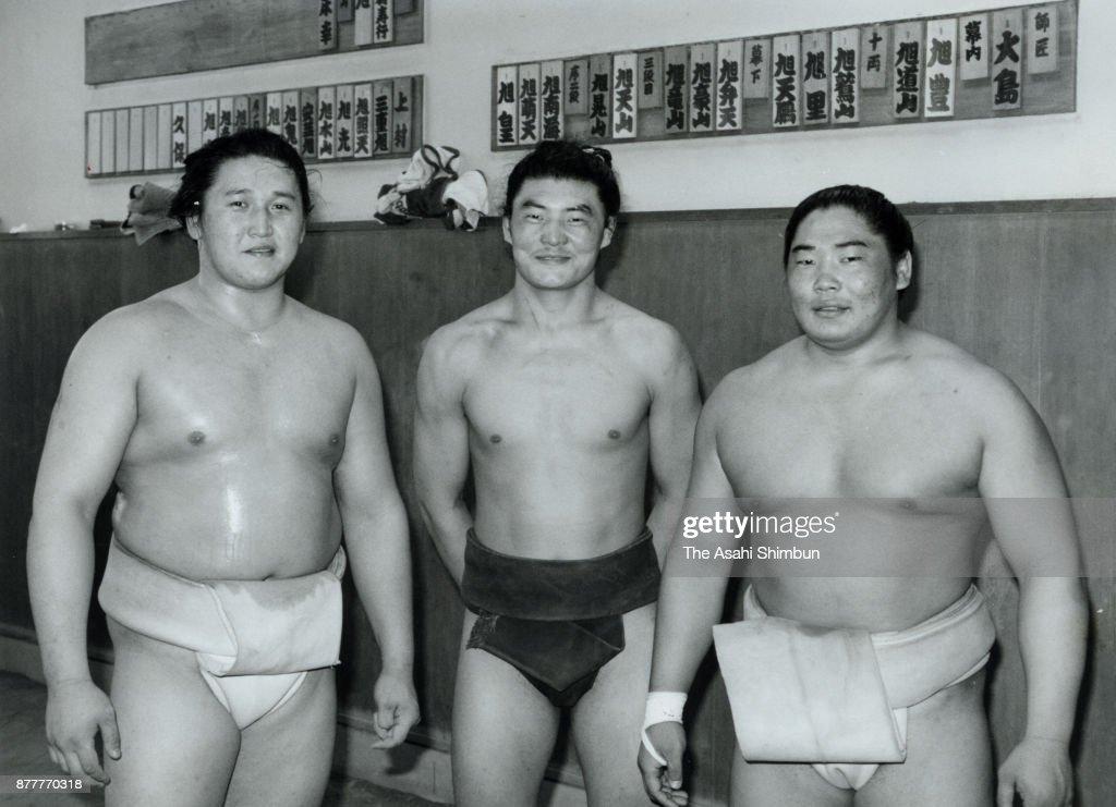 Mongolian Sumo Wrestlers : ニュース写真
